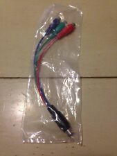 7 Pin S-Video to 3 RCA TV AV Female Cable Adapter Red Green Blue Video-New