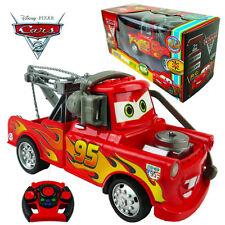 DISNEY CAR PIXAR LIGHTNING MCQUEEN KID 19CM ELECTRIC RC RADIO REMOTE CONTROL TOY