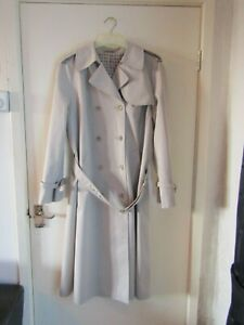 DANNIMAC TRENCH COAT FULLY LINED & BELTED M/L.