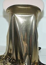 """LIQUID LAME FABRIC GOLD/BLACK 45"""" BY THE YARD ,CRAFT, COSTUME, GARMENTS , FORMAL"""