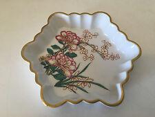 Vista Alegre Portugal for Mottahedeh Porcelain Lowestoft Rose Dish / Ashtray