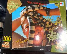 The Crocodile Hunter Milton Bradley Puzzle 100 Pieces Complete