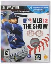 MLB 12: The Show (Sony PlayStation 3, 2012)
