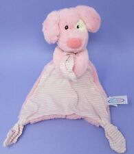 Mary Meyer Baby Marshmallow Zoo Pinky Pup pink dog comforter blanket soother