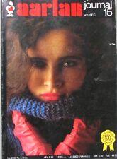 Revue de mode Catalogue de tricot - Aarlan - Journal 15 - Pulls - Vestes - Hiver