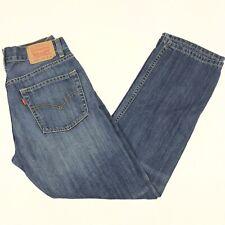 Levis 514 Jeans Boys Slim Straight Blue Denim 16 Reg. 28x28 Measures 26 x 28