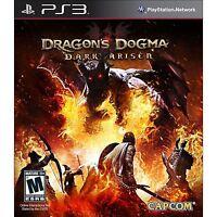 Dragon's Dogma: Dark Arisen (Playstation 3, PS3) Brand New