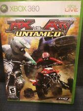 MX vs. ATV Untamed (Microsoft Xbox 360, 2007) Video Game