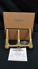 Nib Central Brass Three Valve Bath & Shower Valve Cast Brass Set
