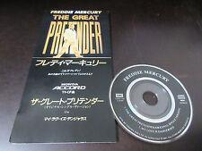 Freddie Mercury Great Pretender Japan 3 inch Mini CD Single in 1995 Queen