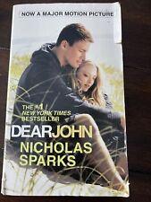 Dear John by Nicholas Sparks (2009, Trade Paperback, Movie Tie-In,Media tie-in)