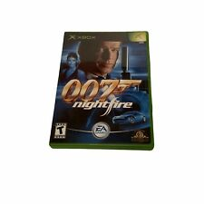 James Bond 007 Nightfire Original Xbox Game Complete Fun 1-4 Player Multiplayer