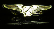 Boeing Logo WINGS gold Wing Pin for Pilot Crew as uniform accessory