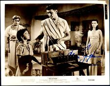 Jean Simmons VINTAGE HOLLYWOOD Hand-Signed The Egyptian Studio Photograph! Rare!