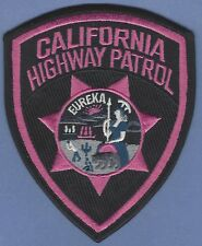 CHP CALIFORNIA HIGHWAY PATROL POLICE PATCH PINK CANCER AWARENESS