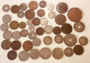 Antique  Middle East Coins Palestine  Egypt ,Iraq ,Morocco 224 grams