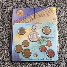 Coffret de 8 pièces + 5€ en argent - Italie - 2006
