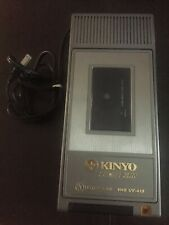 New listing Vintage Kinyo Vhs Uv-413 Video Tape Cassette Rewinder Super Slim *Works*