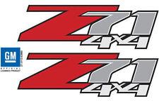 2 - Z71 4x4 Decals Stickers 2007 2008 2009 2010 2011 2012 2013 Chevy GMC - F