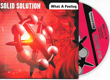SOLID SOLUTION - What a feeling CD SINGLE 3TR Happy Hardcore Gabber Cardsleeve