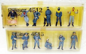 12 military figures 1/72 Preiser Military 4513 4515 West Germany MB