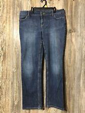 Simply Vera Vera Wang Size 12 Medium Denim Flap Pocket Jeans Msre 35x29