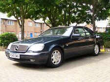 Mercedes CL420 1997 C140 V8 Pillarless S class coupe.