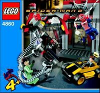 LEGO - SUPER HEROES -  - 4860 - INSTRUCTIONS!