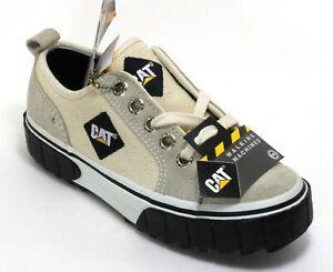 127 Schnürschuhe Halbschuhe Turnschuhe Sneaker Walking Machines Leder CAT 45