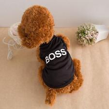 Small Summer Pet Puppy Small Dog Cat Clothes Vest T Shirt Dress Apparel Shirt #L