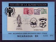 Nicaragua  Michelnummer Block 122 postfrisch ( Hill : 21 )