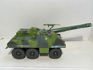 GI Joe 1984 Slugger Tank Complete With Top Gun Vintage Vehicle No Driver