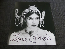 LENE LOVICH signed Autogramm auf 20x24 cm Foto InPerson LOOK