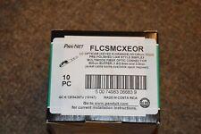 Panduit OPTICAM CAM Style  FLCSMCXEOR LC MM 50/125um 10 Gig Fiber Connector (10)