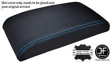 Bleu Point 93 94 95 96 97 Fits Honda DEL SOL CRX Accoudoir couverture carbone vinyle