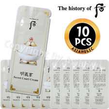 The history of Whoo Myunguihyang Secret Court Cream 1ml x 10pcs (10ml) Exp 2020