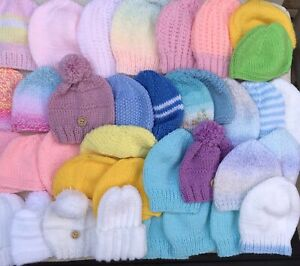 Bunch of 36 Hats Suitable for a SCBU
