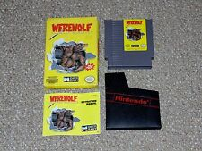 Werewolf: The Last Warrior Nintendo NES with Box & Manual