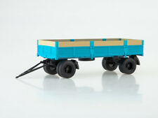 Scale model truck 1/43 Trailer GKB-8350 onboard (with extensions)