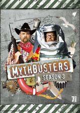 Mythbusters : Season 3 (DVD, 2009, 7-Disc/ FAT PACK) NEW, FREE POST + TRACKING