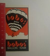 Aufkleber/Sticker: bobos Jeans Ballon Team (29121618)