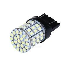 2X T20 W21W 7443 7440 LED 64-SMD 1206 Tail Stop Brake Light Bulb Lamp White #Cu3