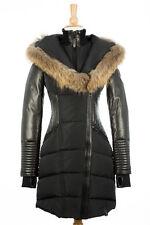 100% AUTHENTIC Rudsak Shauna Coat With Fur Trim Black Size XS (Older Model)