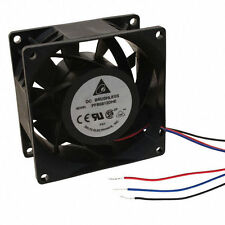 Delta 80mm x 80mm x 38mm   Extreme High Speed Fan, Bare Wire, PFB0812DHE-F00