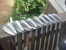 MacGregor Jack Nicklaus Muirfield Irons 1-PW Stiff Flex Steel