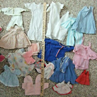 ANTIQUE VINTAGE OLD DOLLS CLOTHES VARIOUS ITEMS LOT AS~IS AS~FOUND MAY NEED TLC
