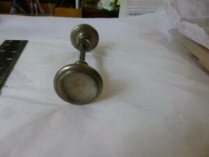 Antique Steel Threaded Spindle Door Knob Set