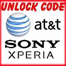 FACTORY UNLOCK CODE SERVICE AT&T SONY XPERIA  Z1 Z2 Z3 Z4 S LT26 LT28 LT30 ALL