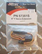 """Hitec 57351S 6"""" Y Servo Extension"""