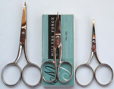 Lot of 3 Pair Vintage Fly Tying Scissors/Tools Herter's Millers Forge Usa Exc